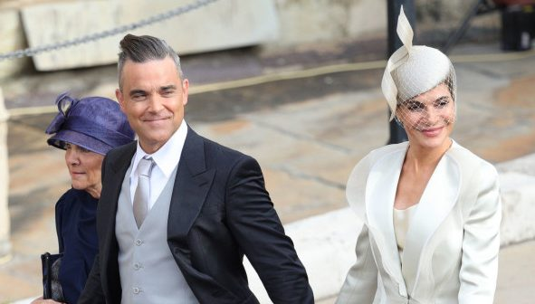 The hilarious question Robbie Williams' daughter asked Sarah Ferguson