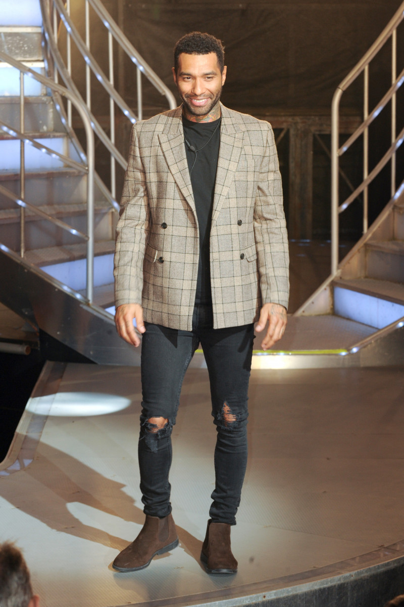 Jermaine Pennant was the Fourth eviction from the 'Celebrity Big Brother' House