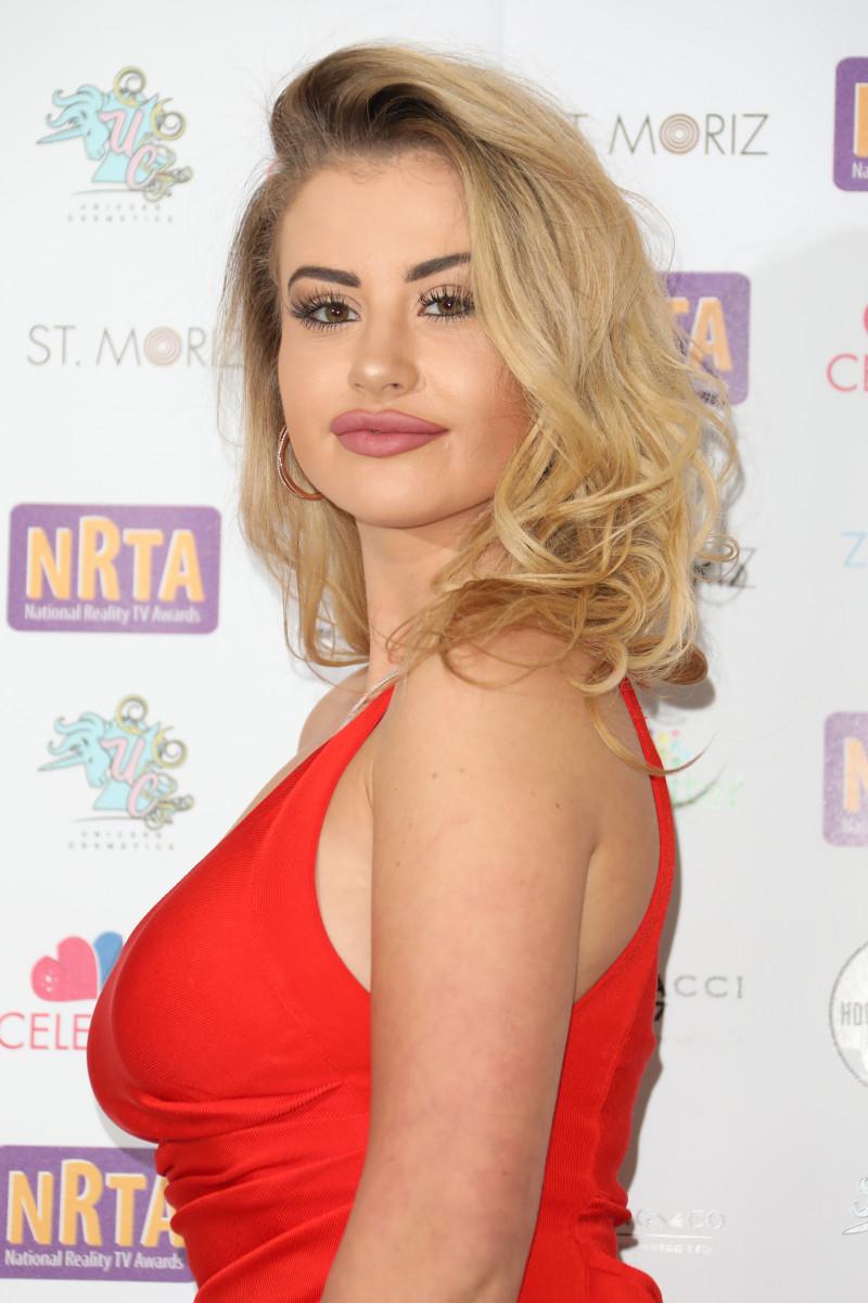Chloe Ayling at the National Reality TV Awards 2018