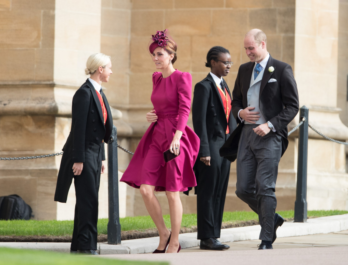 The Royal Wedding of Princess Eugenie to Jack Brooksbank in Windsor