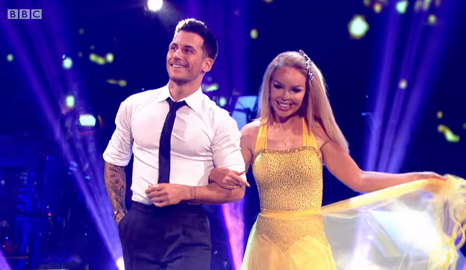 Katie Piper on Strictly