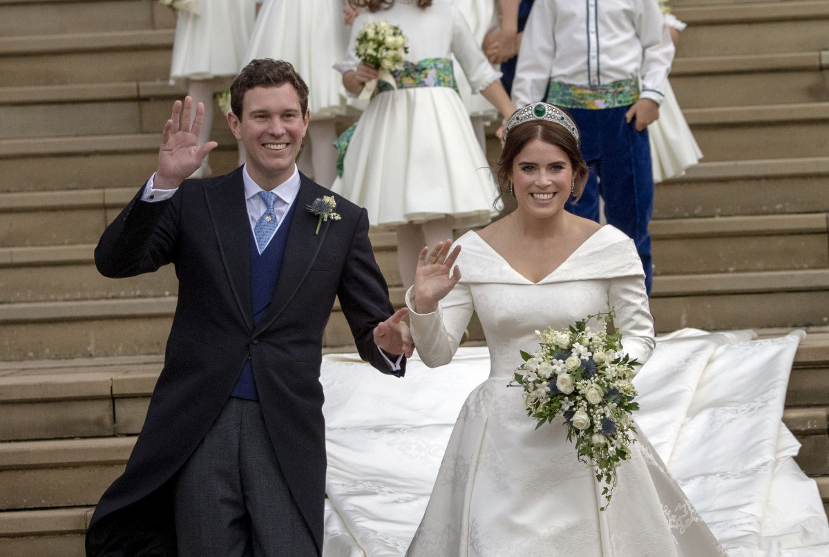 Inside Eugenie and Jack Brooksbank's wedding reception