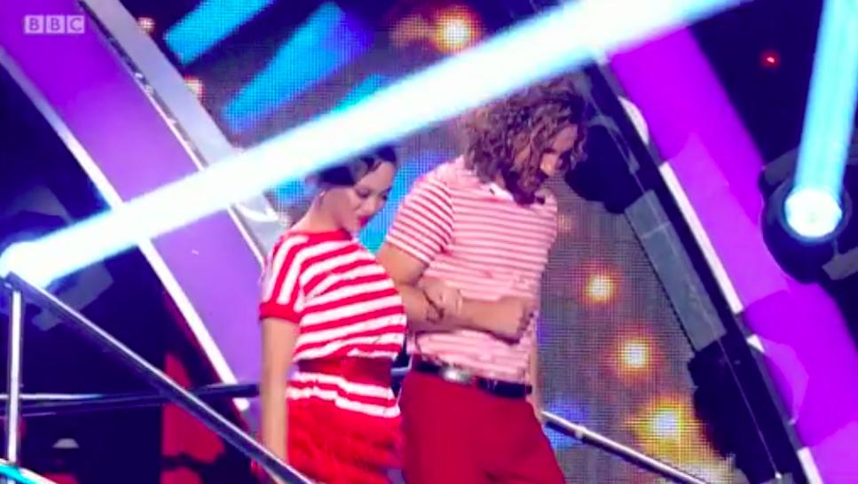 Strictly Come Dancing fans cringe over Seann Walsh and Katya Jones joke