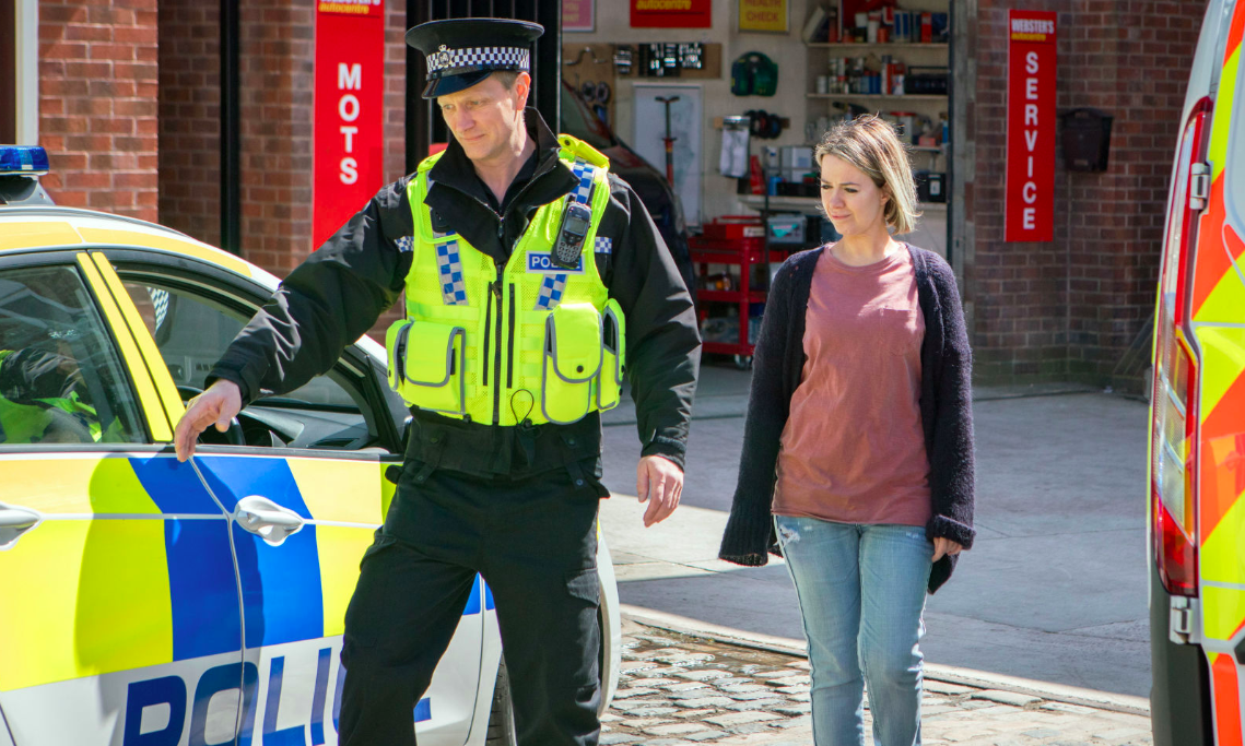 Coronation Street: Abi's arrested after being stitched up by Tracy