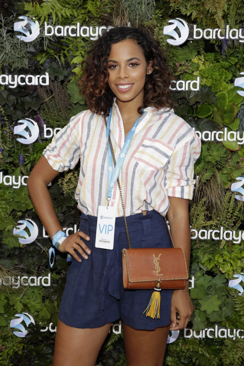 Rochelle Humes attends as Barclaycard present British Summer Time Hyde Park