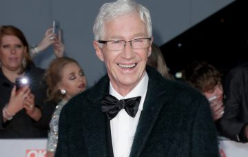 Paul O'Grady attends the National Television Awards 2018