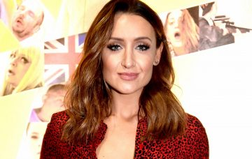 Catherine Tyldesley attends the premiere of 'Strangeways Here We Come' at Vue Printworks