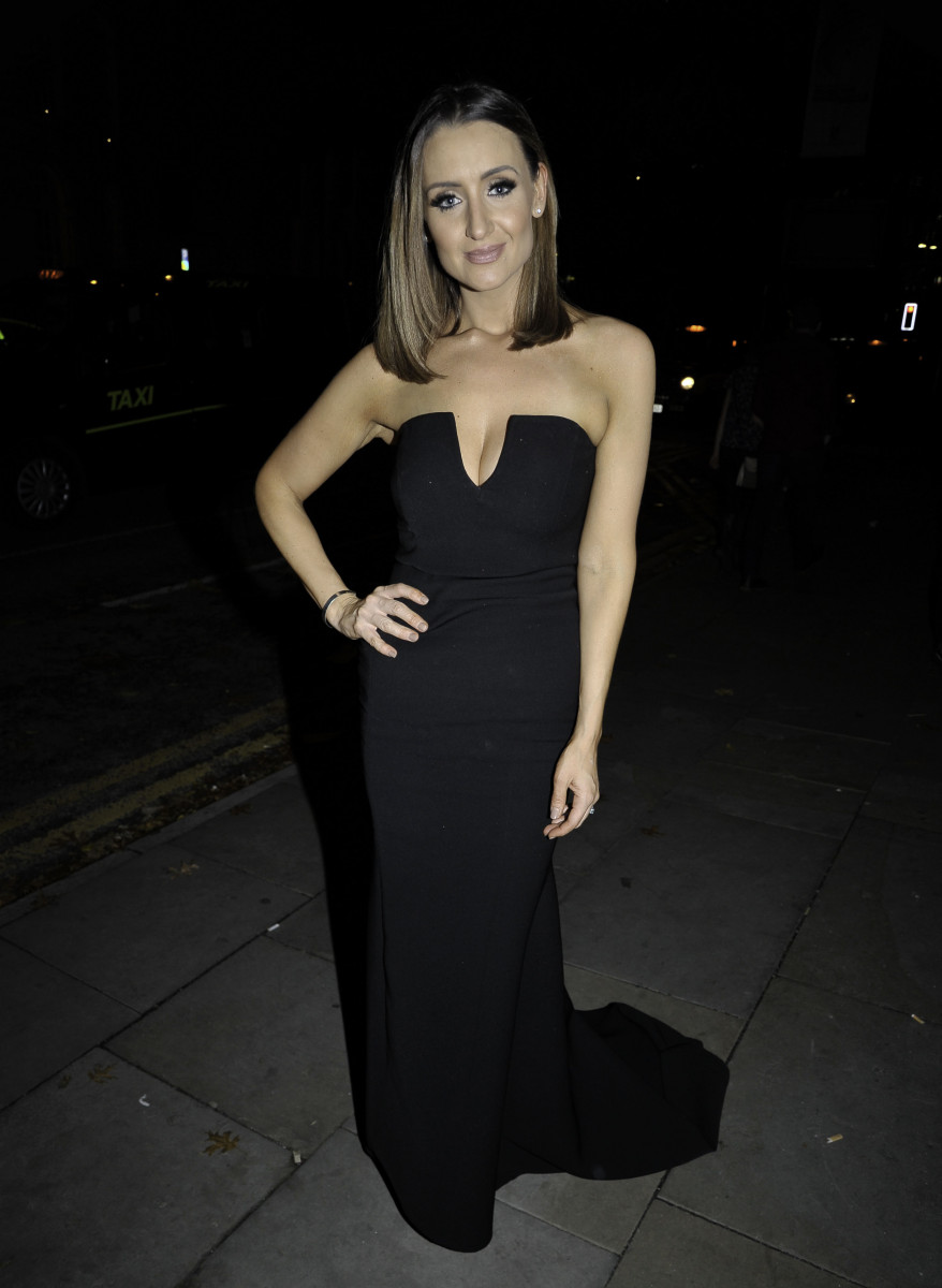 Celebs Arrive At The Manchester Fashion Event In Manchester