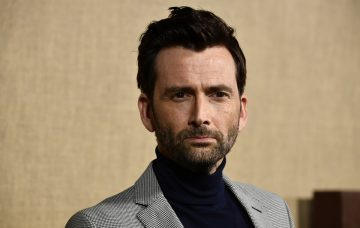 David Tennant attends the Los Angeles Premiere Of HBO Series 'Camping'