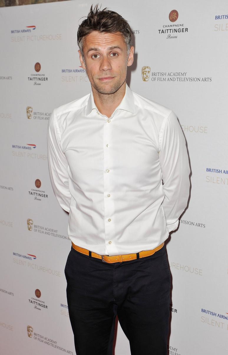 Richard Bacon attends the British Airways Silent Picturehouse launch at Vinopolis
