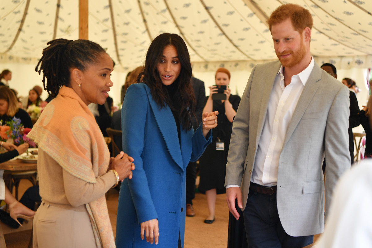 """Duchess of Sussex's mum Doria Ragland is """"very happy"""" about Meghan's pregnancy"""