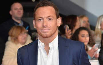 Joe Swash attends the 21st National Television Awards at The O2 Arena