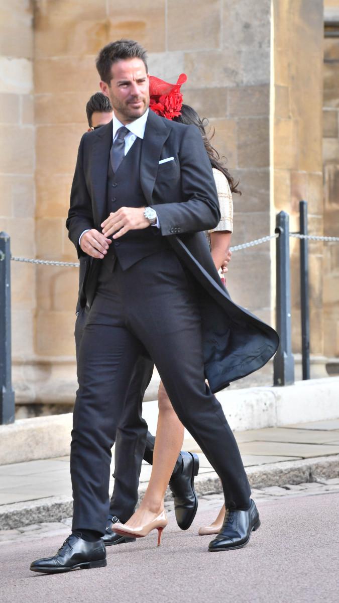 Jamie Redknapp at Princess Eugenie's wedding