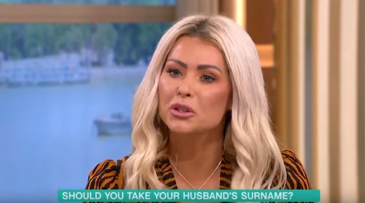 Nicola McLean on This Morning