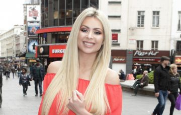 Nicola McLean Celebrity Arrivals At The Lost Village Gala Screening In London
