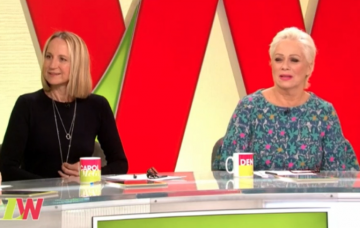 Carol McGiffin and Denise Welch on Loose women