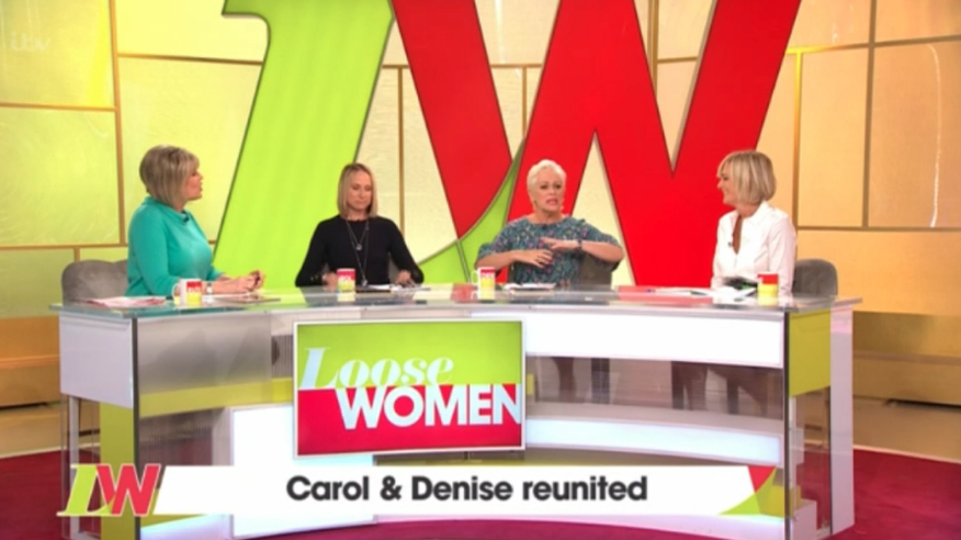 Loose Women panel for October 15