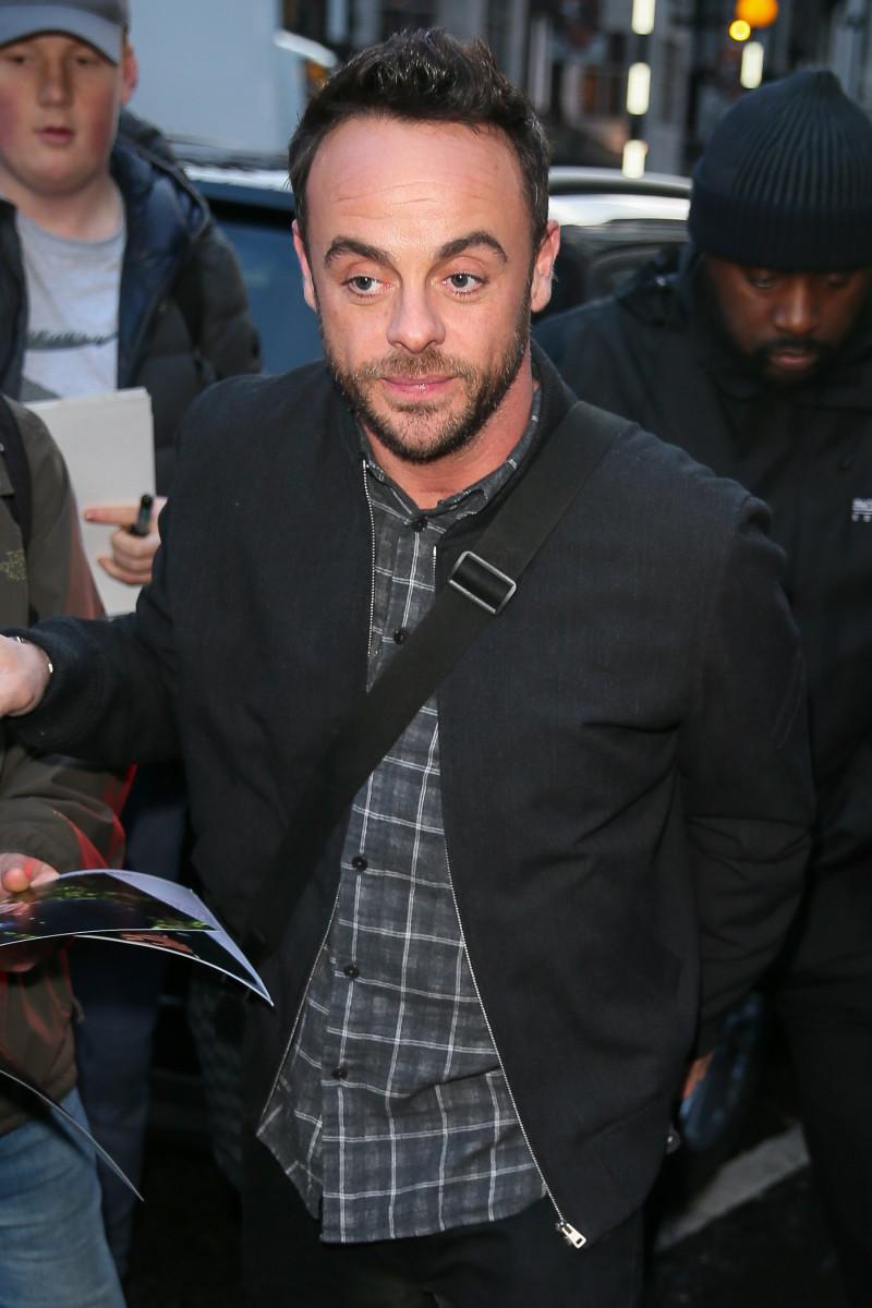 leaving the Prince Trust Awards at the London Palladium - London