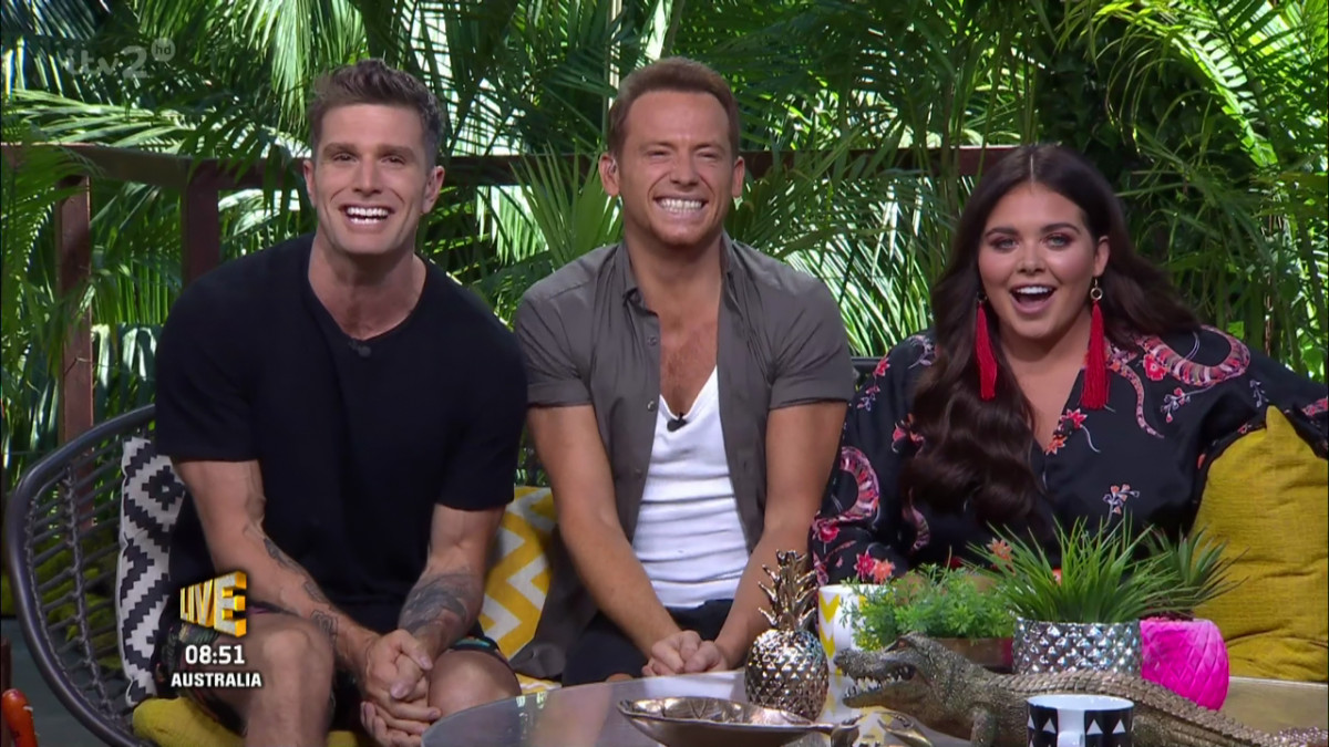 'I'm a Celebrity... Extra Camp'. Broadcast on ITV2
