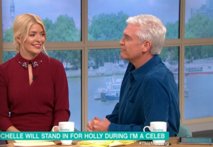 Holly and Phil on TM