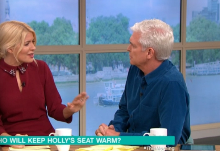 Phil and Holly on TM