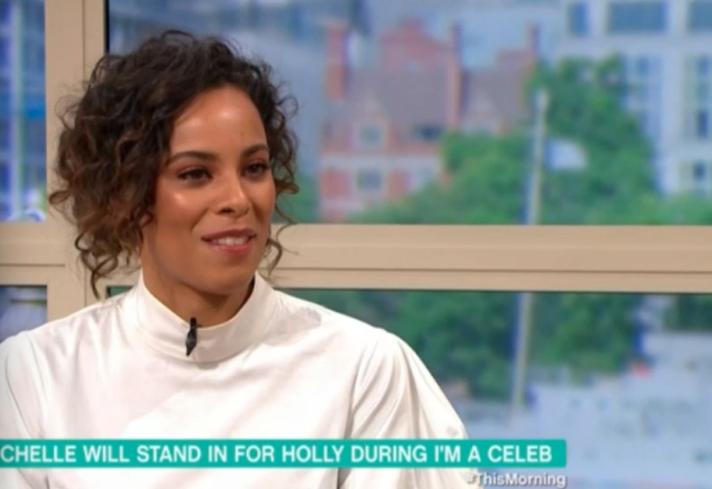 Rochelle Humes on TM