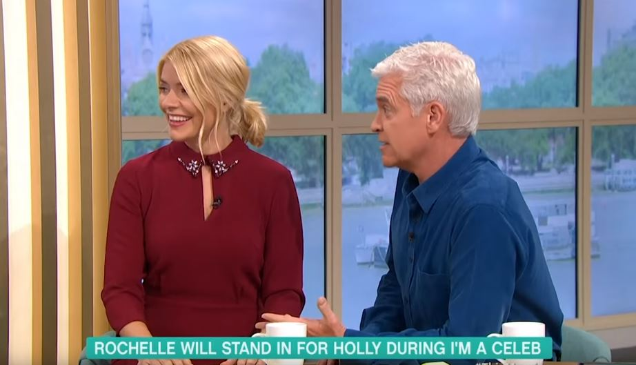 Holly and Phil announce Rochelle Humes on This Morning