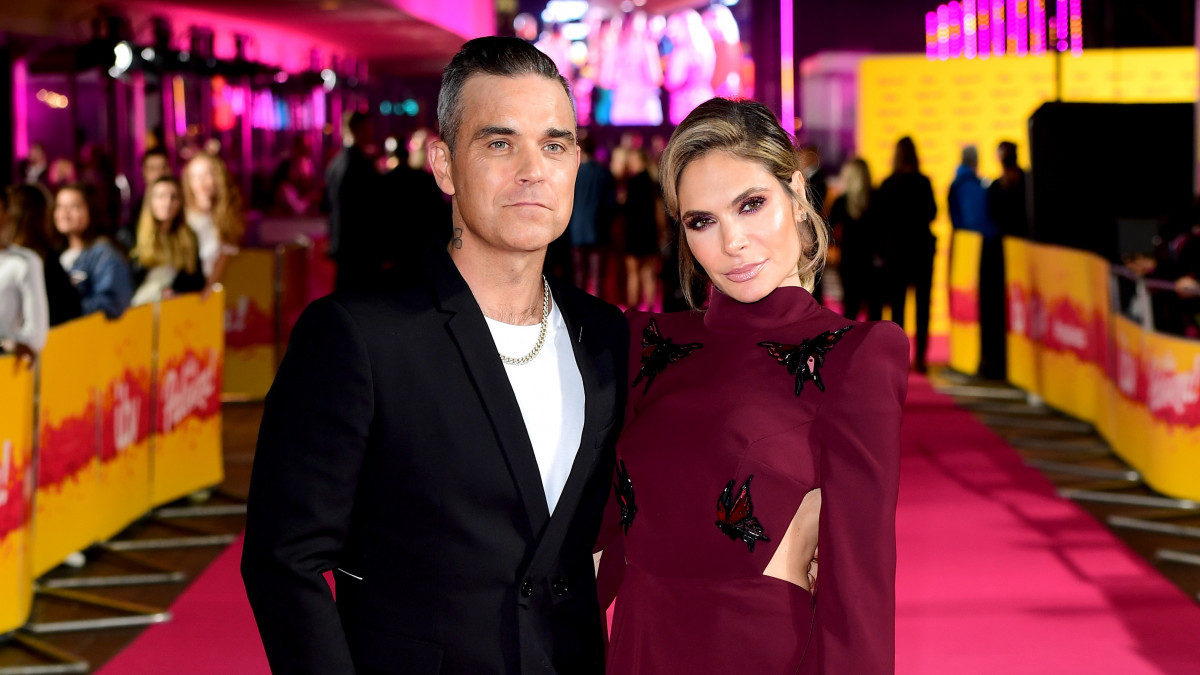 Robbie and Ayda 'at war' behind the scenes on The X Factor