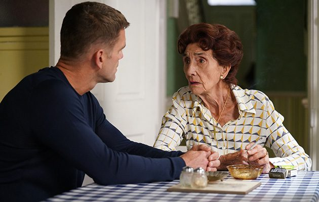 Dot Cotton tells Jack Branning she is dying
