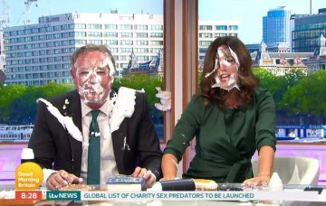 Piers Morgan and Susanna Reid on GMB
