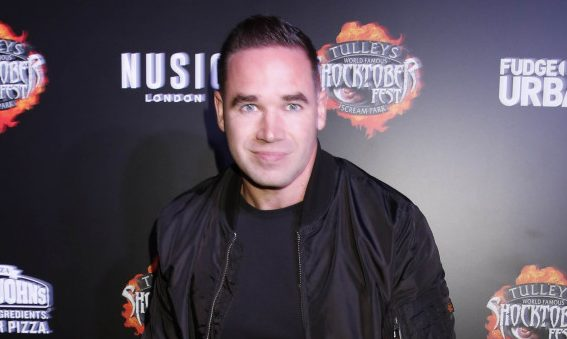 Kieran Hayler Attends Tulleys Farm Shocktober Fest In London