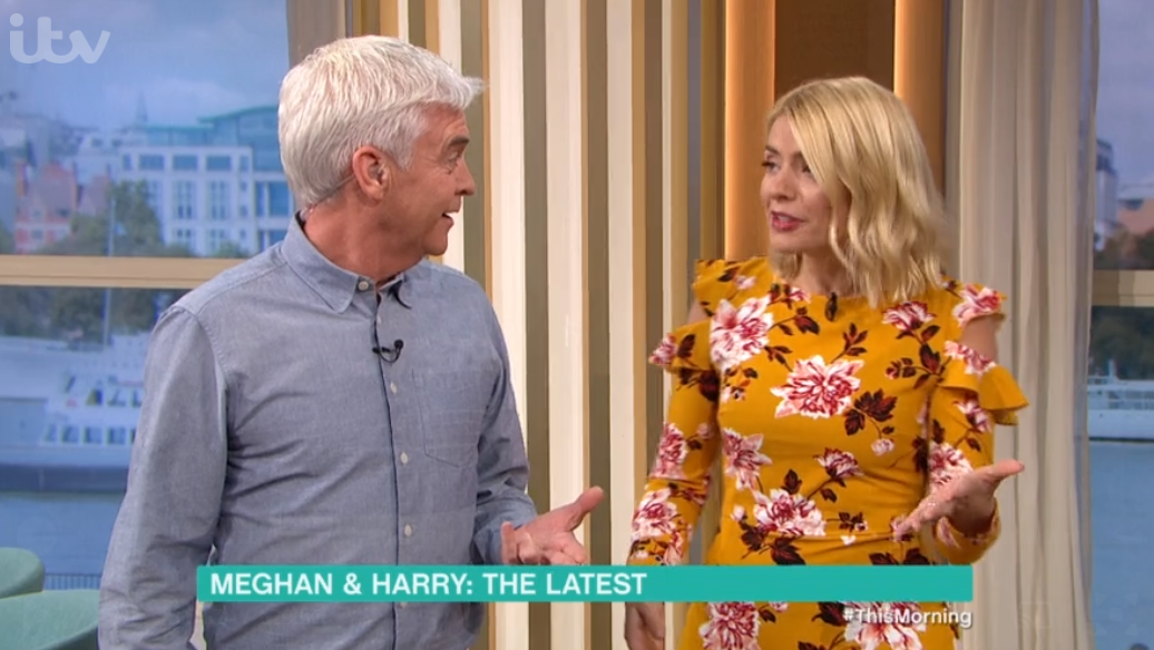 Holly and Phil on Thsi Morning