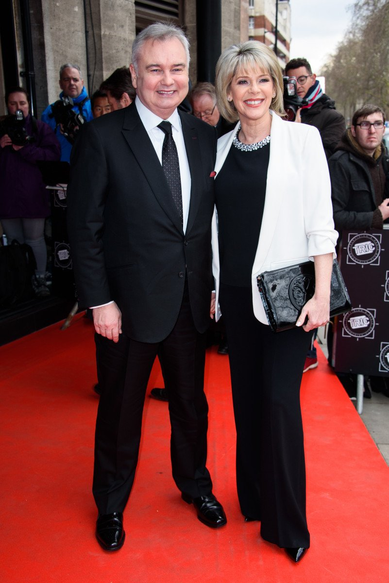 Eamonn Holmes and Ruth Langsford attend the TRIC Awards 2018