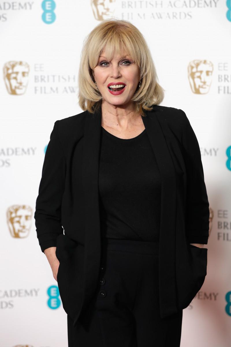 Joanna Lumley attends The EE British Academy Film Award, BAFTA, nominations announcement at BAFTA