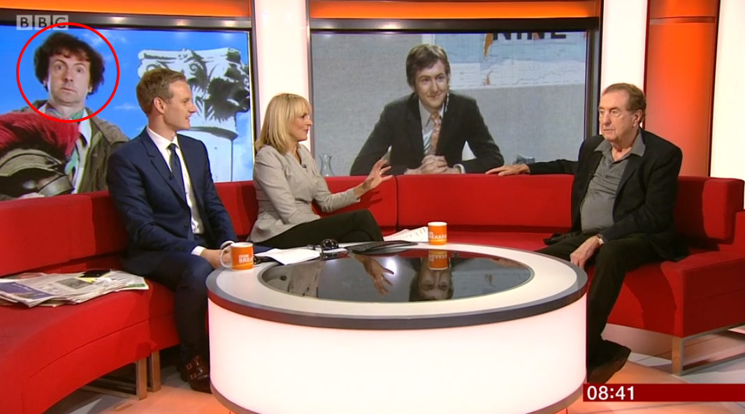 Eric Idle on BBC Breakfast