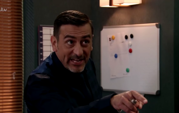 Peter Barlow rows with Daniel