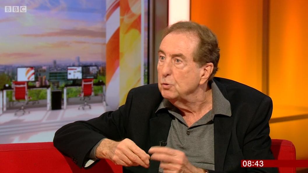 Eric Idle on BBC Breakfast