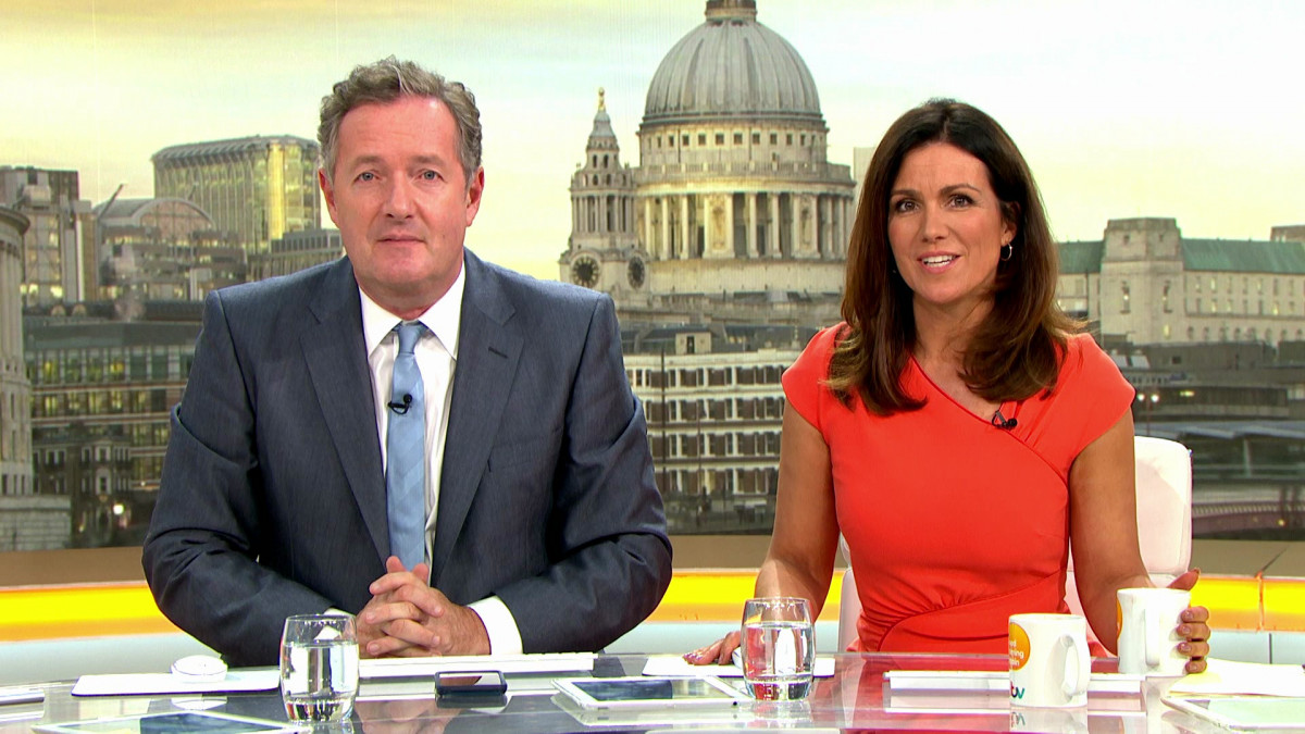 Piers Morgan and Susanna Reid land roles in Hollyoaks