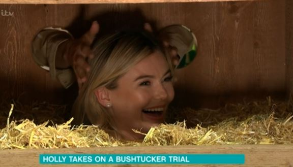Toff as Holly Willoughby leaves This Morning