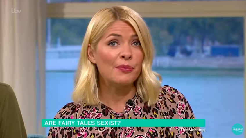 holly willougby this morning itv