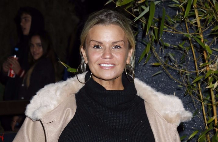 "Kerry Katona quits booze to ""conquer"" her mental health"