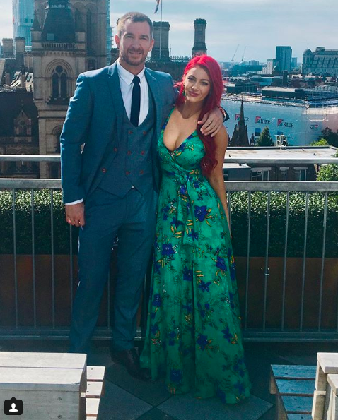 strictly dianne buswell anthony quinlan instagram