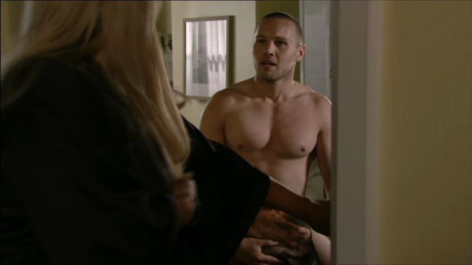 Keanu Taylor topless