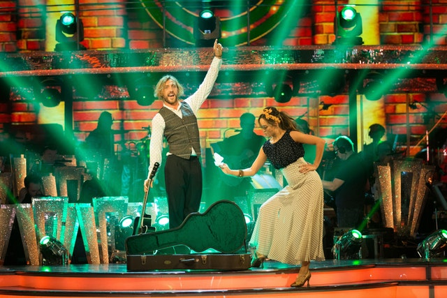 Strictly's Seann and Katya