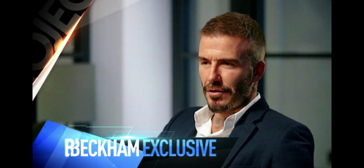 David Beckham Prepares To Talk On Channel 10 Australia