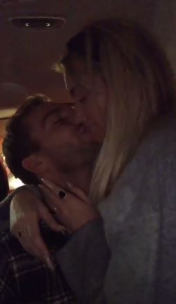 Laura Anderson and Max Morley