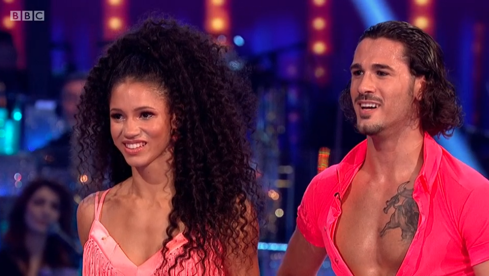 Vick Hope Strictly Come Dancing