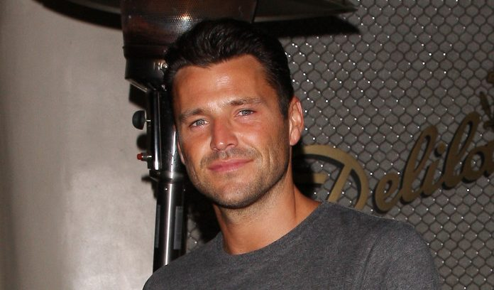 """Mark Wright reunited with his """"man"""" Arg for night out with Michelle Keegan"""