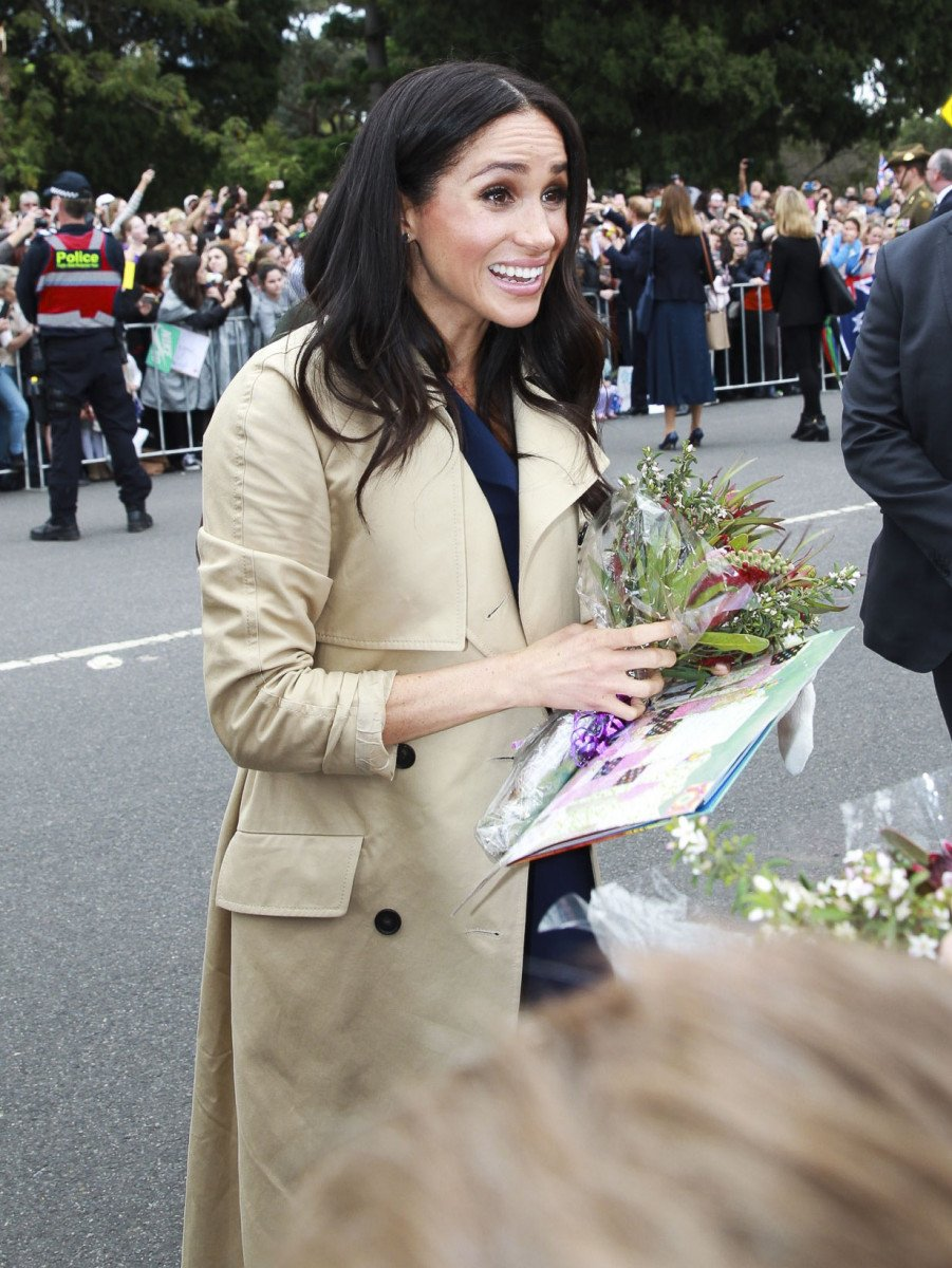 "The Duchess of Sussex, Meghan Markle is gifted a copy of Australian classic children's book ""Gumnut Babies"" by May Gibbs on her Melbourne visit"
