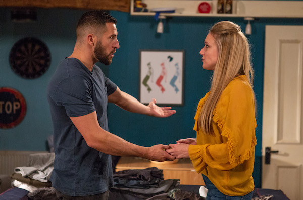 Emmerdale SPOILER: Ross and Rebecca announce they're leaving